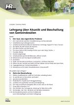 Lehrplan - Seminarinhalte vom Akustikseminar
