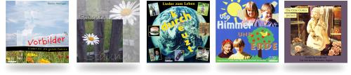 CDs mit christlicher Musik vom Verlag HR Records